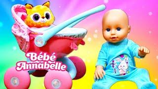 Vidéo pour enfants de bébé born Annabelle : le déballage d'une nouvelle poussette