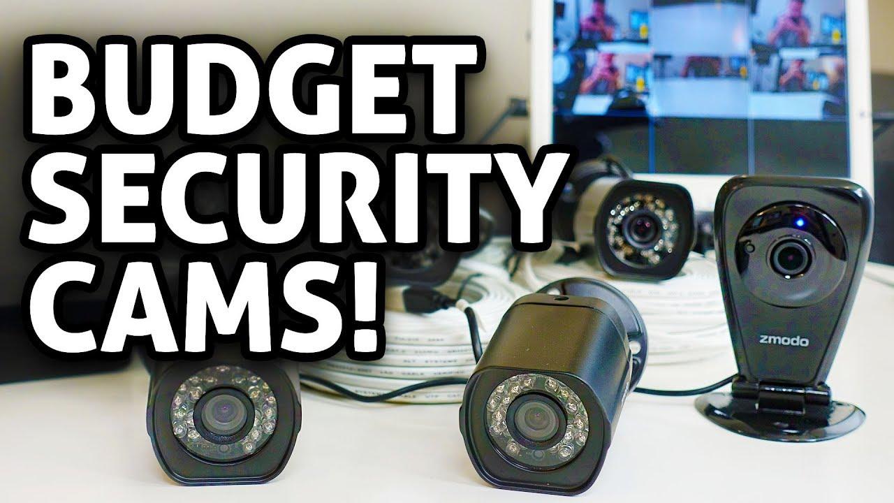 Ultra Budget Security Camera Setup! Zmodo Cams REVIEW