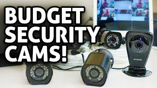 Ultra Budget Security Camera Setup! Zmodo Cams REVIEW