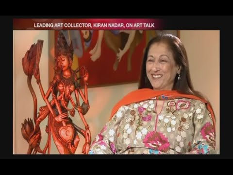 Art Talk - Kiran Nadar (Art Collector)