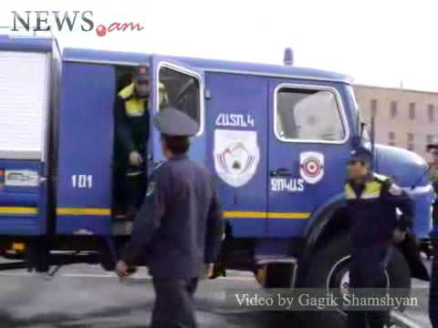 Bomb Alert At Zvartnots Airport, Head Of Armenia's Security Service To Leave, May 22, 2011