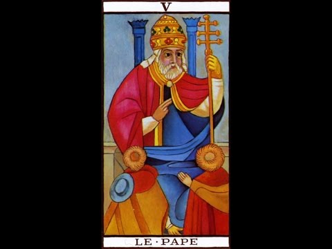 Hierophant tarot card love meaning - YouTube