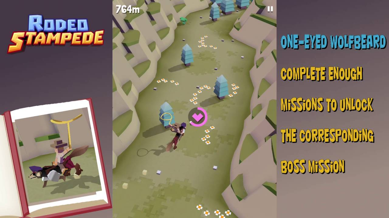 Rodeo Stampede How To Get The One Eyed Wolfbeard Boss