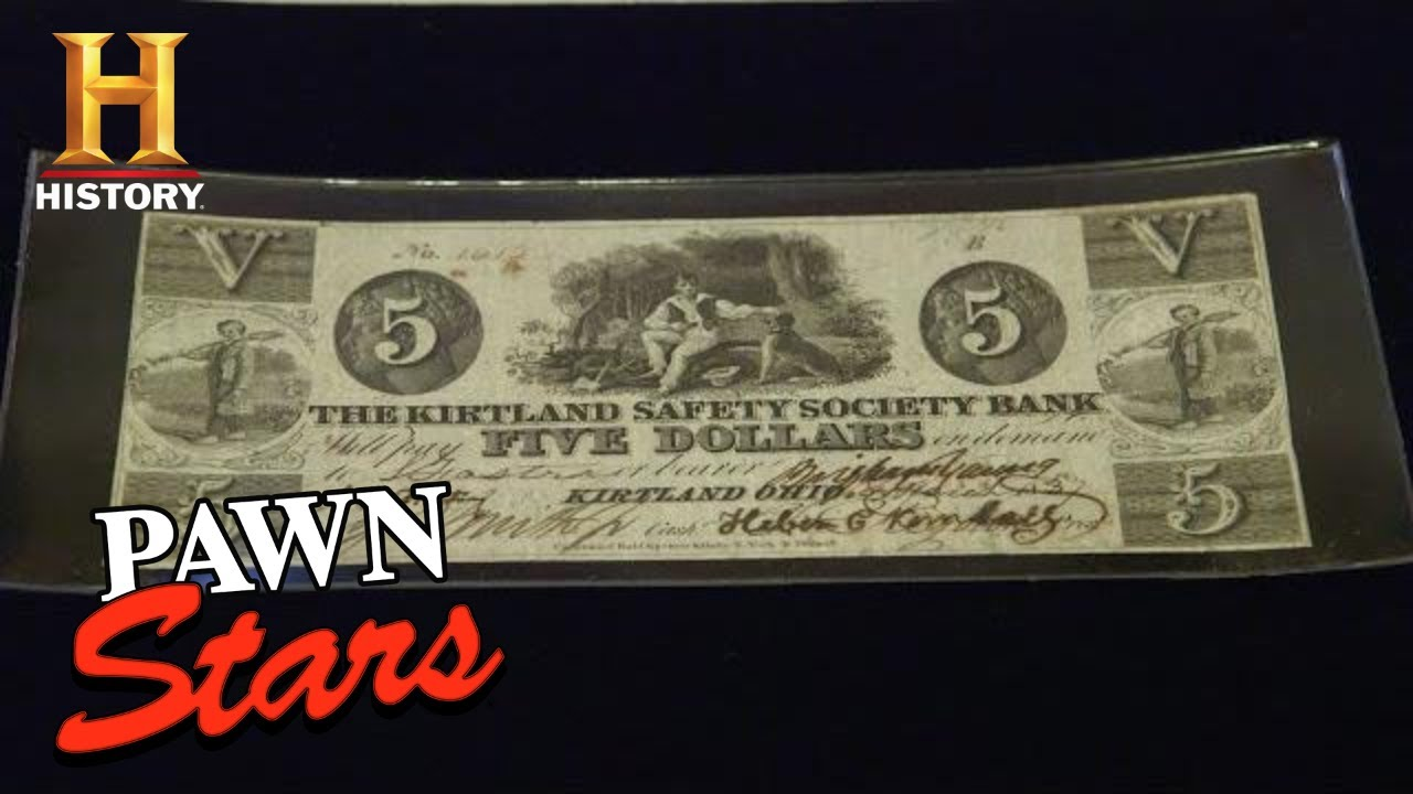 Pawn Stars: BIG MONEY FOR HISTORIC CURRENCY (Season 17) | History