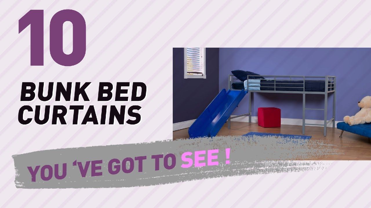 Bunk Bed Curtains Top 10 Collection New Popular 2017 Youtube