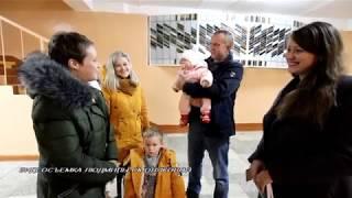 Парламентские выборы в Костюковичском районе: На голосования приходят семьями / Видео