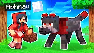 Aphmau Tricks The ALPHA WOLF In Minecraft!
