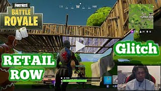 Fortnite: Battle Royale | **NEW SECRET UNDERGROUND GLITCH IN RETAIL ROW**