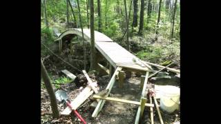 Backyard Bridge Project: Day By Day By Week By Month Etc.
