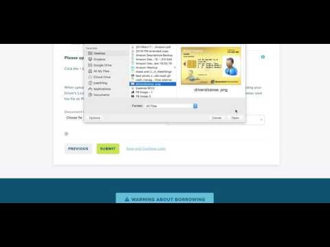 Loan Application   File Uploads