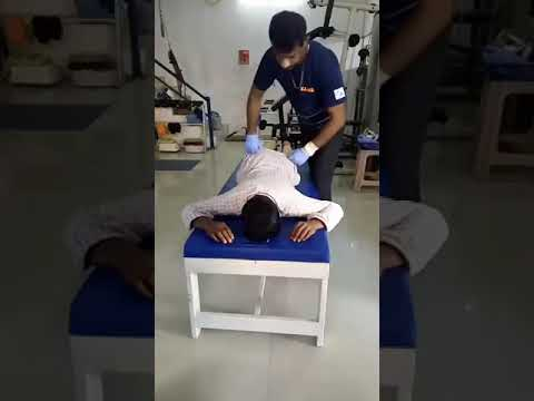 Chris Leong Method TIT TAR by Dr  Vijay Rathor In INDIA, at Apex  Physiotherapy Center Punalur Kollam