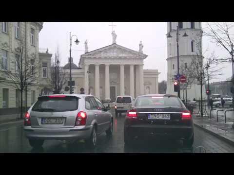 Weather in Vilnius, Lithuania, 2010-03-19, temperature - plus 4 C from Oras TV