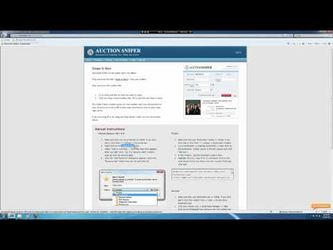 Buyer Auction Manager Demo Of Win It Now Module Ebay Buy It Now Software Youtube