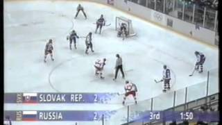 Olympic Games 1994. 02. 23. QF . Slovakia - Russia