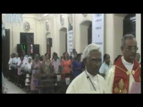 Vespers Mass at St Mary's Church,  Rathmalana
