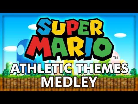Super Mario Athletic Themes Remix