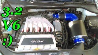 Forge Motorsport Intake install 3.2 V6 VW/Audi Dont buy it!