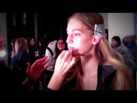 Egy nap Axente Vanessa magyar topmodellel a New York Fashion Weeken