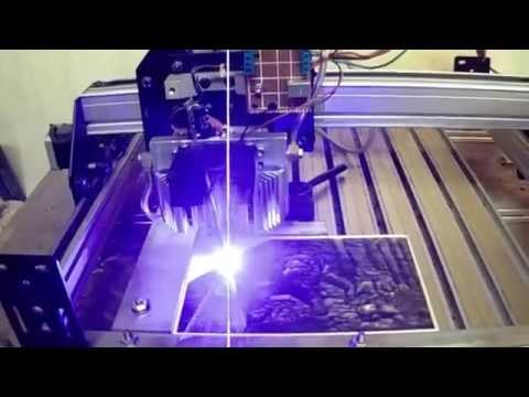 6W 450nm Laser Diode 3D Engraving Air Assist Shapeoko 2