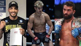 Чемпион Bellator о бое с Хабибом, чемпион М-1 подписан в UFC, Сэйдж Норткатт в нокауте