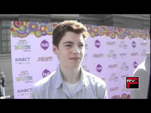 Gabriel Basso at the Power of Youth Event