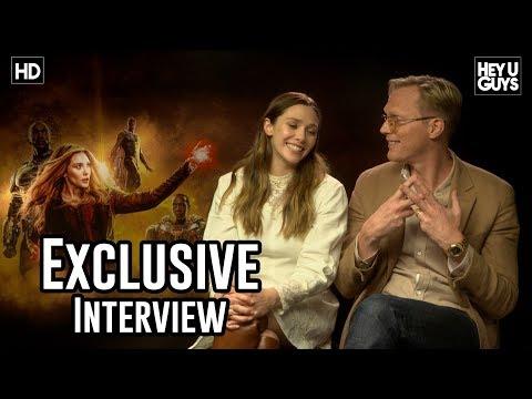 Elizabeth Olsen & Paul Bettany  Avengers: Infinity War Exclusive
