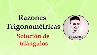 ¿Cómo hallar un ángulo de un triángulo rectángulo haciendo uso de las razones trigonométricas?