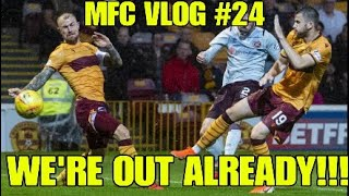 WE'RE OUT ALREADY!!! - MFC Vlog #24 - Motherwell vs Hearts