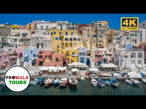 Procida, Italy Walking Tour [4K|60fps]