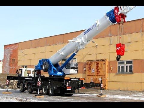 Уникальный автокран прибыл для работы на СХК