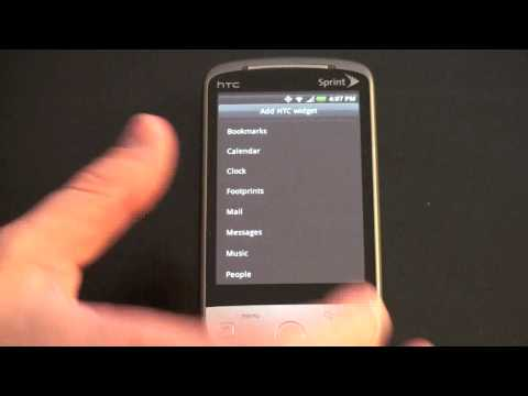 Sprint HTC Hero: Sense UI Tour