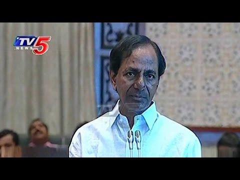 CM KCR Appreciates Chandrababu Over Pattiseema | KCR PPT On Irrigation Projects Redesign | TV5 News