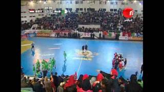 Egypt 25-26 Algeria 19-1-2012 HandBall Caf cup مصر والجزائر لليد