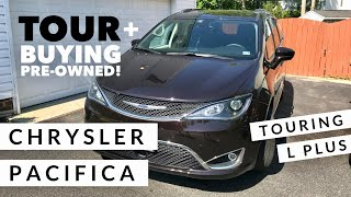 Tour Our Minivan Chrysler Pacifica Touring L Plus 2018