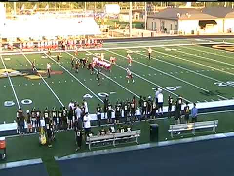 Fishers at Avon; JV football; September 25, 2017; 2nd half