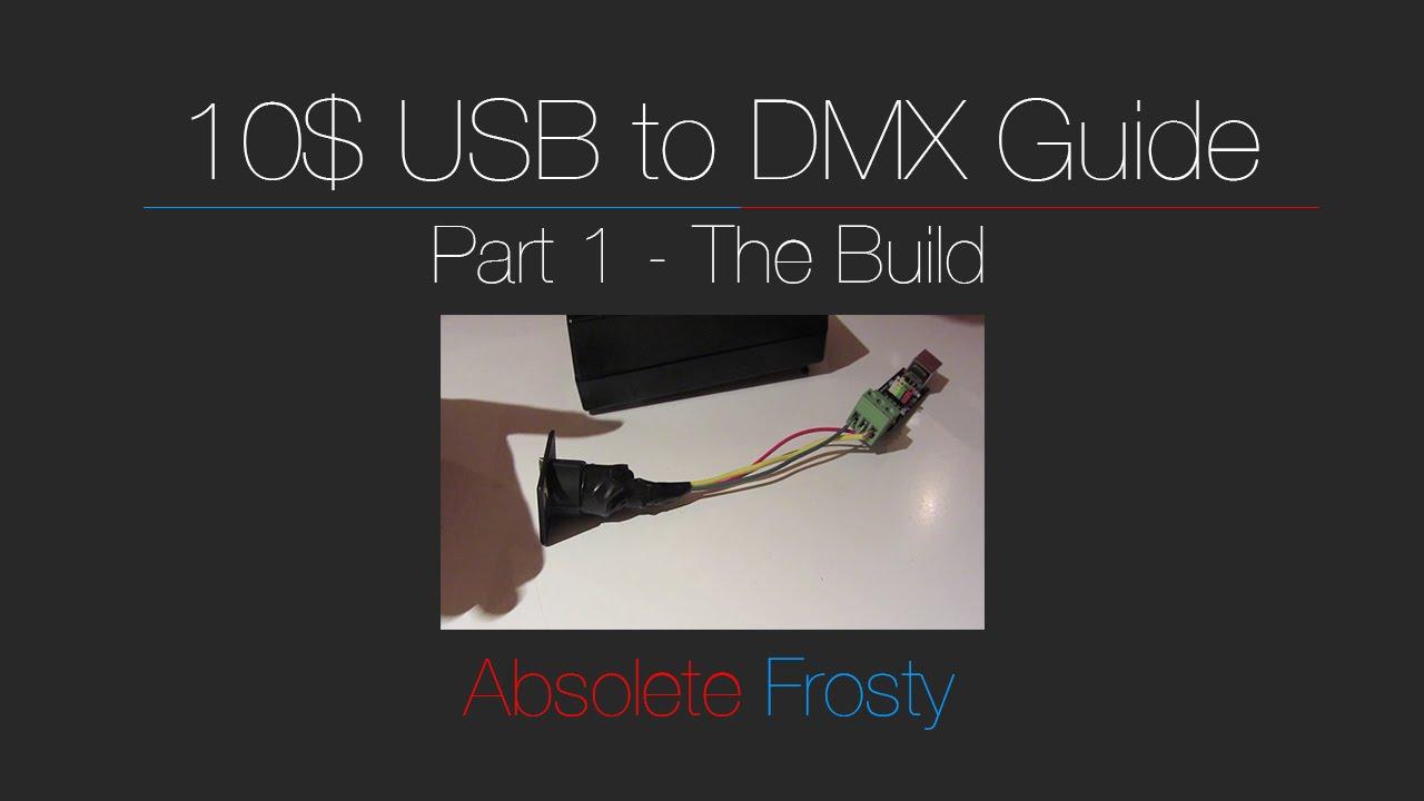 usb to dmx wiring diagram [ 1280 x 720 Pixel ]