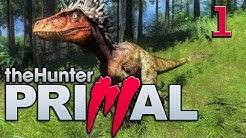theHunter Primal #1 Der Dinosaurier Jagd Simulator mit Survival deutsch german HD