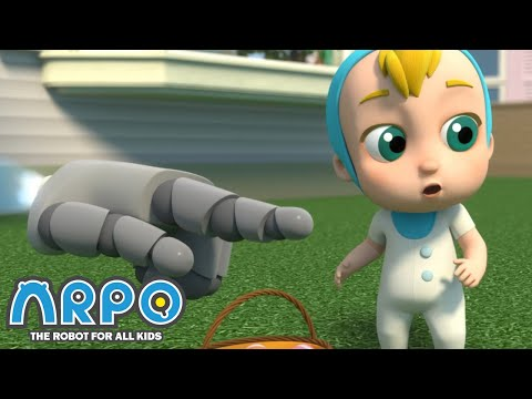 Arpo the Robot | Easter Egg Hunt - Squirrel TAKEOVER! | Funny Cartoons for Kids | Arpo and Daniel