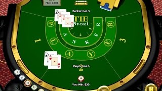 baccarat strategy playing on player and not on banker no tie bet played