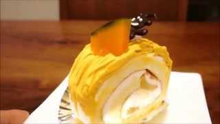 Pâtisserie Le Couple : Pumpkin Mont Blanc Cake (Halloween Ver)