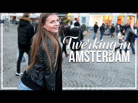 TWERKING IN AMSTERDAM?!! | AMSTERDAM VLOGS | SOLO TRAVELLING