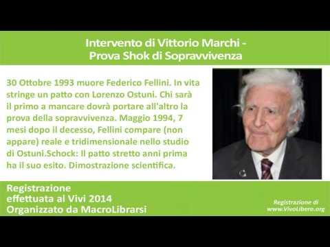 Prova shock di sopravvivenza dopo la morte di Federico Fellini - VITTORIO MARCHI