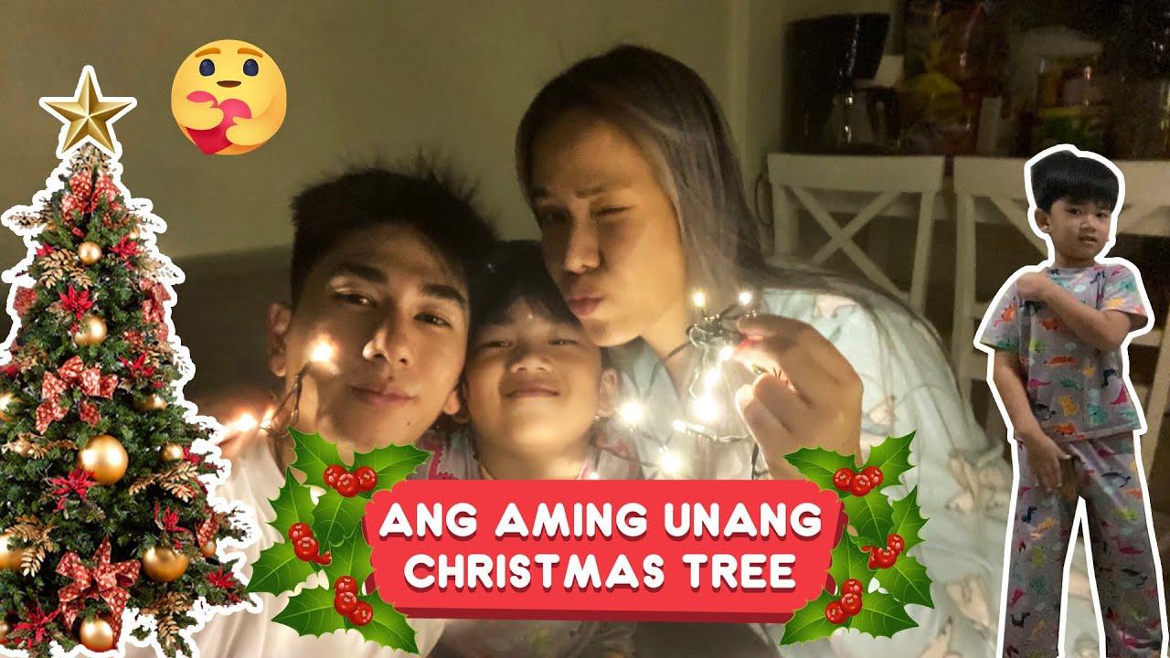 ANG AMING UNANG CHRISTMAS TREE | Nikko Natividad
