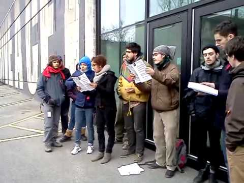 Bloquage du conservatoire de Montreal