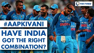 Have INDIA got their WORLD CUP combination right?