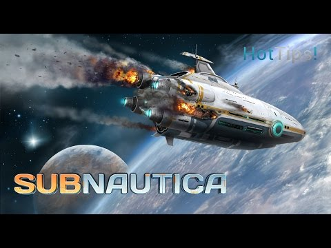 Subnautica - Totally Blind And Ready To Dive! - Live Stream #1 (4/5/2017)