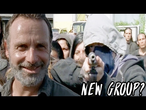 The Walking Dead Season 7  - Who Is This New Group?