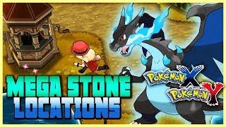 Pokemon X & Y All Mega Stone Locations