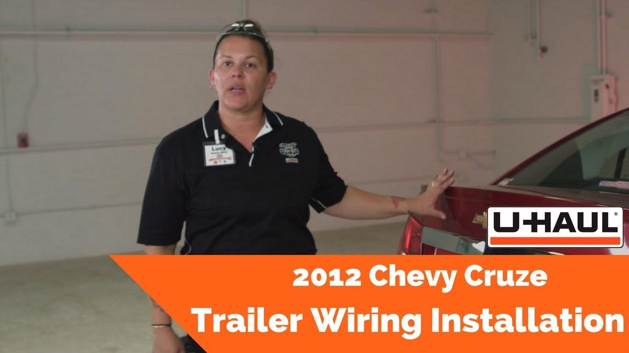 2012 Chevy Cruze Trailer Wiring Installation Youtube Uhaul Harness Premium