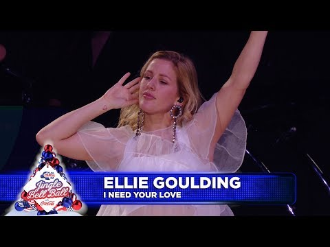 Ellie Goulding - 'I Need Your love' (Live at Capital's Jingle Bell Ball 2018)